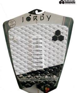 גריפ לגלשן חברת צאנל איילנד דגם גורדי צבע לבן שחור